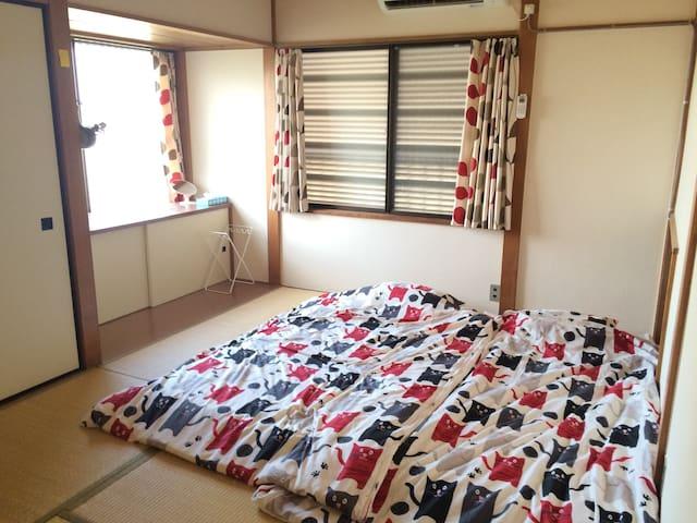 Tokyo ota japanese Tatami room. - Ōta-ku - บ้าน