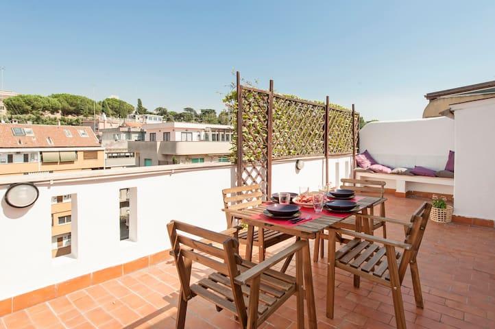 Super Attico Vista San Pietro Roma - Roma - Apartment