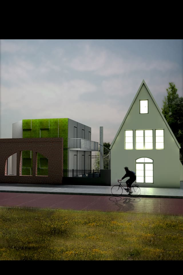 animation of the front of our house