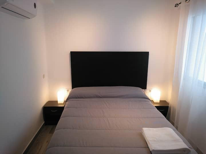 Habitación con Wifi en apartamento con vistas