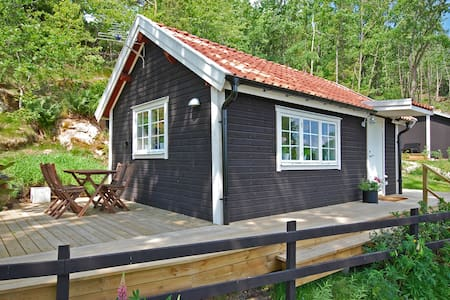 Lux compact living 200m from lake - Bunn - Huis