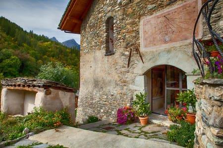 Villa in montagna (Valle maira) - Marmora - Daire