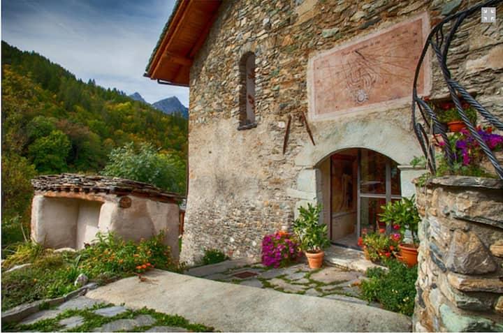 Villa in montagna (Valle maira)