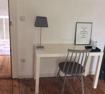 1,5 Zimmer in alter Dorfschule - Bergen - Bed & Breakfast