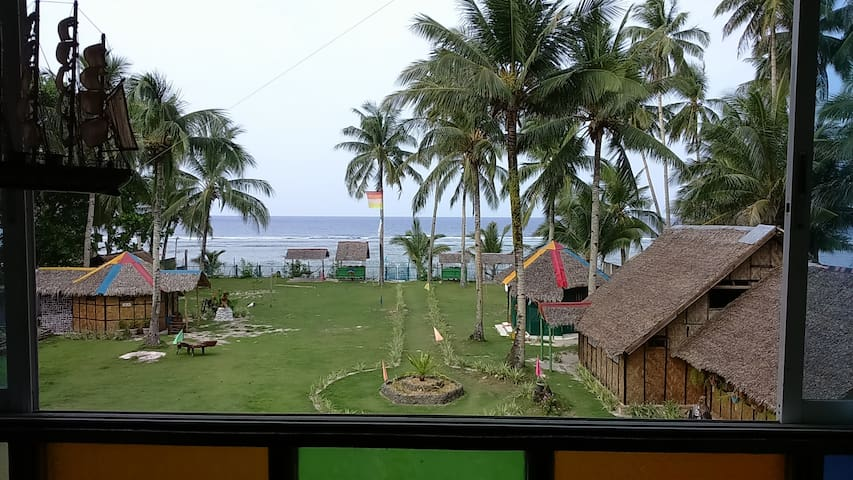 Single room Pacific Ocean view - Siargao Island - Dom