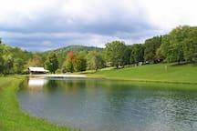 the lake and beach house