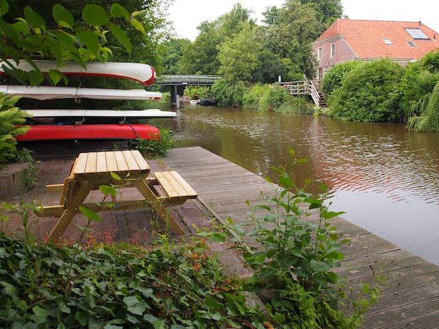 Kom naar NW-Groningen tussen Lauwersmeer en Wadden - Wehe-den Hoorn - Гестхаус