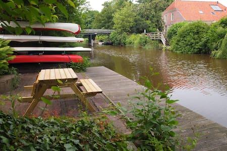 Kom naar NW-Groningen tussen Lauwersmeer en Wadden - Wehe-den Hoorn - Aamiaismajoitus