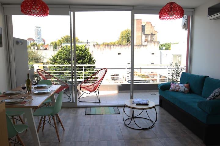 Great apartment and location! Las Cañitas