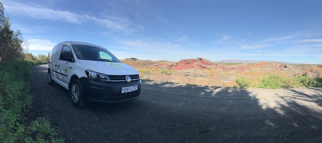 Probably the best stationary camper in Iceland DVJ