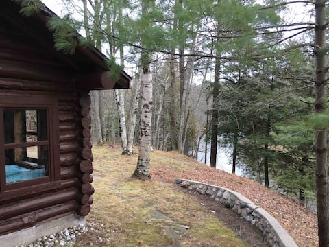 Pere Marquette Cabin-fish, hike, restful retreat