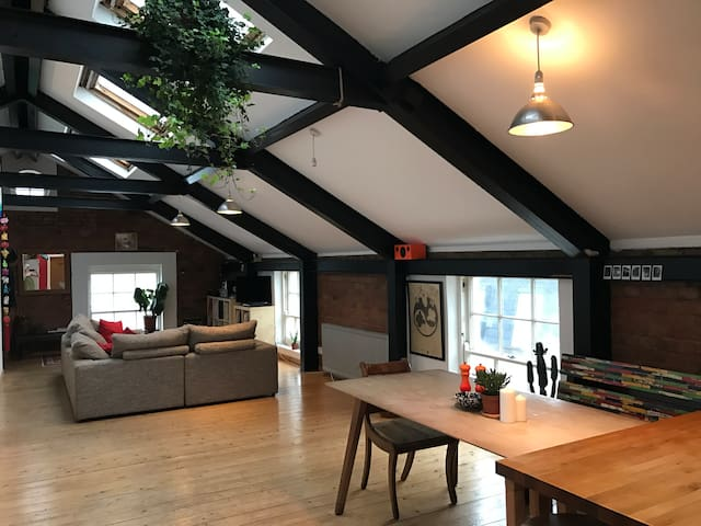 Private Room In Loft Space, East London - Londen - Appartement