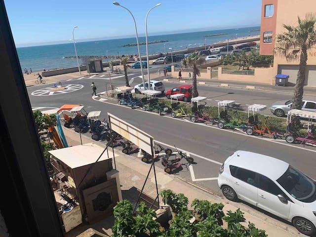 Appartement 7 couchages avec vue sur la mer
