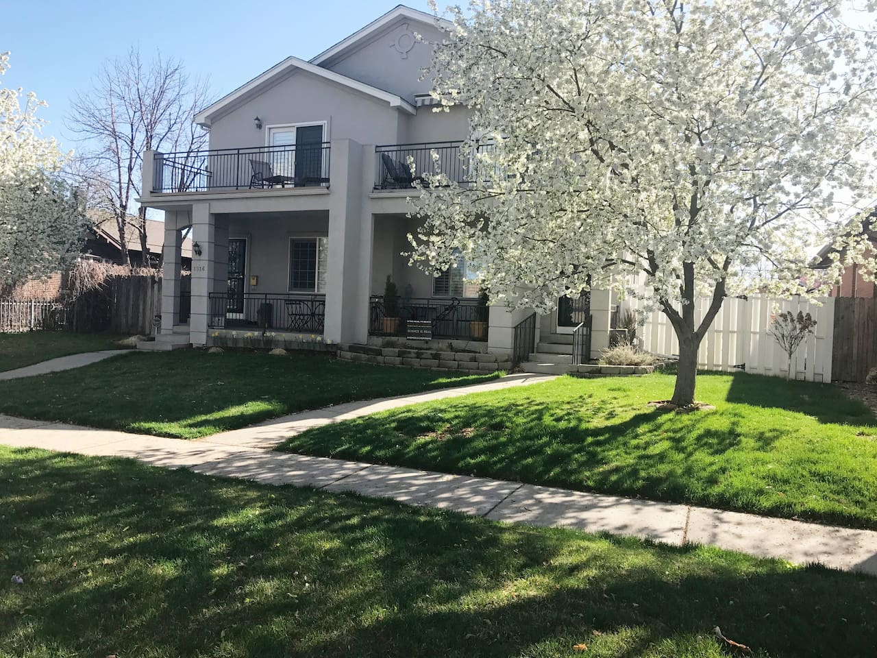 Front of the house.  Denver License # 2019-BFN-0006951