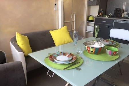 Petit studio tout confort en face de la plage - Fréjus - Wohnung