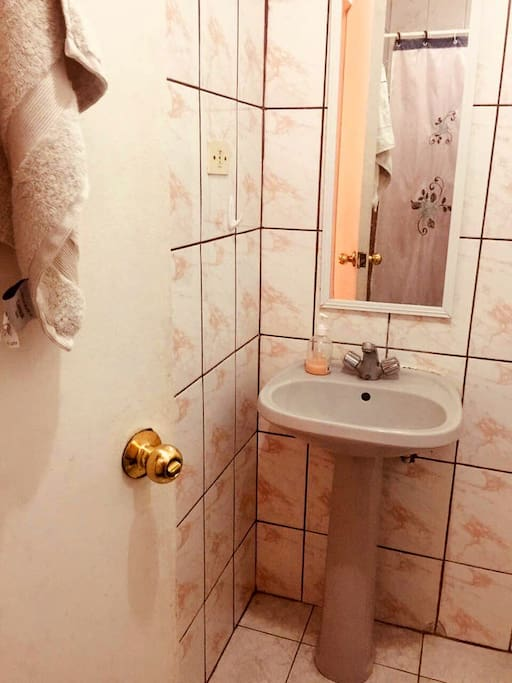 Baño tercer piso