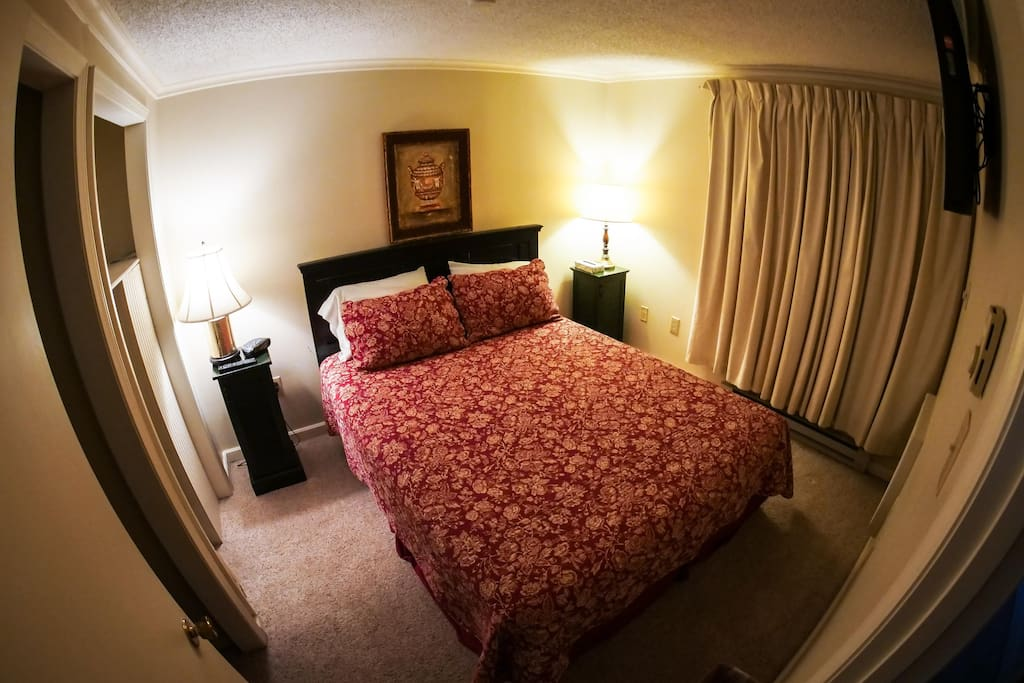 Master Bedroom with a Cozy Bed