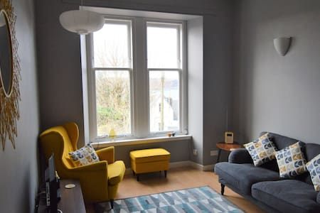 Entire flat above town centre with stunning views. - Oban - Pis
