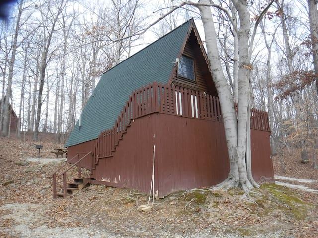 Cedar A Frame Chalet #4 on Patoka Lake S. Indiana