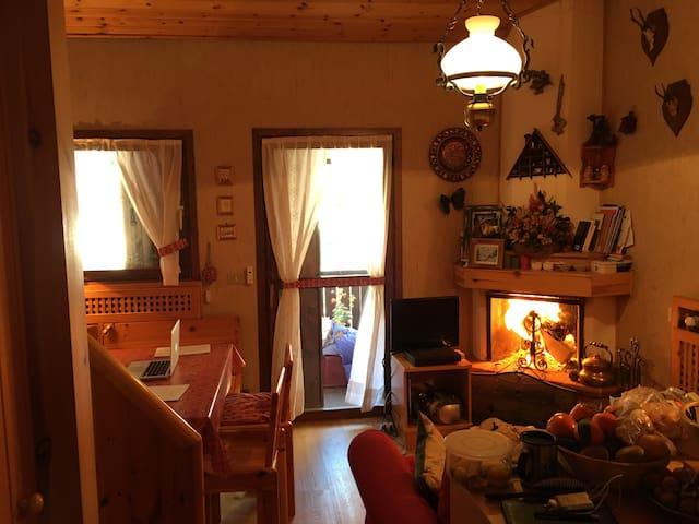 Appartamento mansardato nel cuore delle Dolomiti