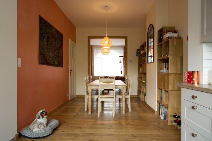 Charming spacious quiet house - 4 BEDS