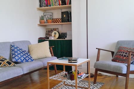 Huge and bright flat 20 min from city center - Apartment