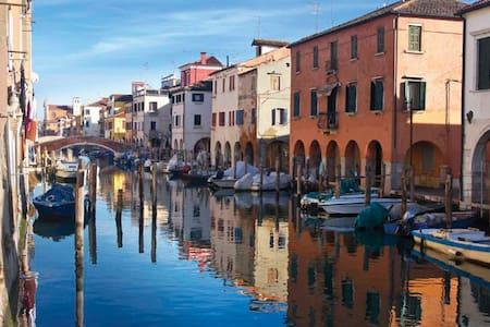 Appartamento sul canal Vena nel cuore di Chioggia - Chioggia - Ház