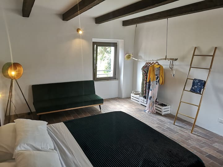 Basilico-Triple room-Superior-Ensuite with Shower-Countryside view