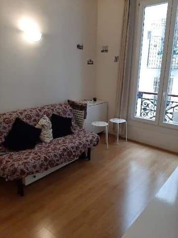 APPARTEMENT CALME 25 m2 PARIS 1er LOUVRE