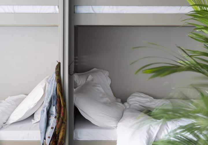 Lit en dortoir de 8 personnes @ho36 hostel