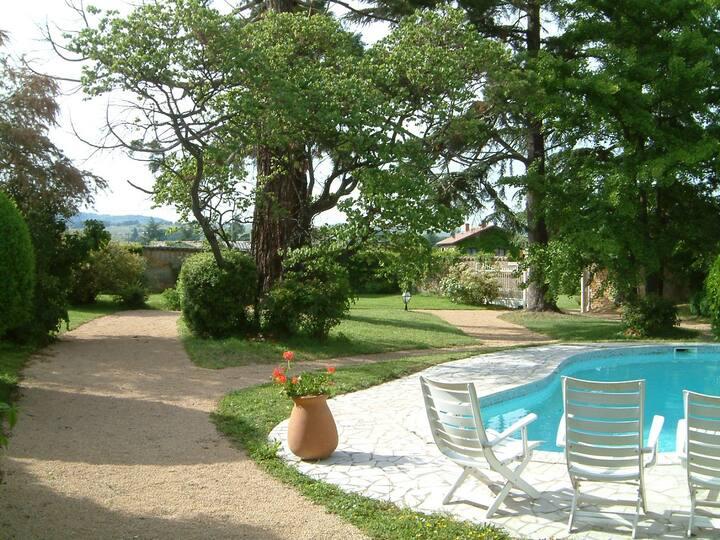 Chambre  Safari  à proximité de Villefranche