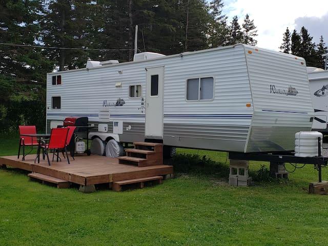 Camping du Cap Rouge     Gaspé et Perce  roul.29pi