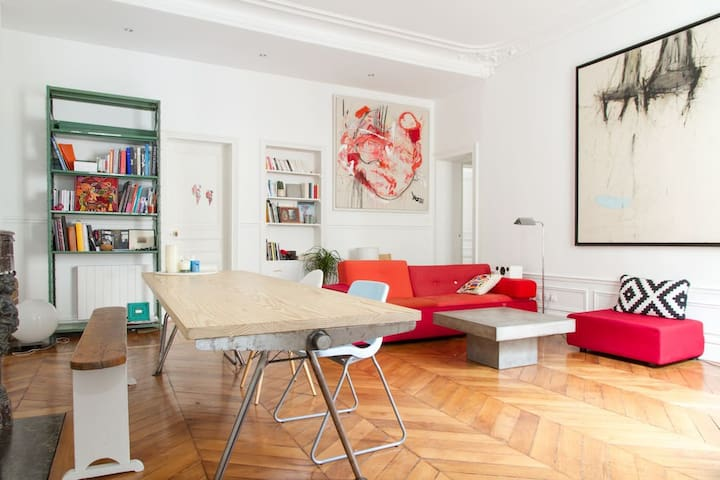Perfect flat for families - Paris - Daire