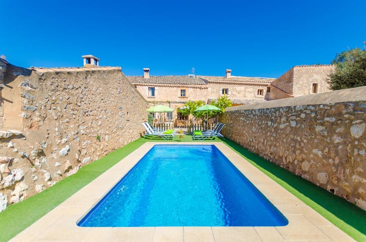 FINCA CAN MARIA COSTITX - Villa with private pool in Costitx.