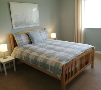 Double room at the Connemara Island Haven