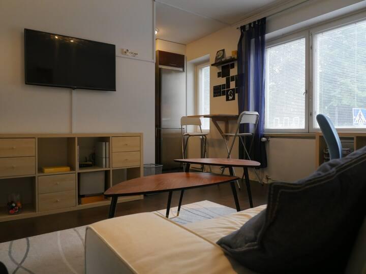 Cosy studio apartment in beautiful Kallio