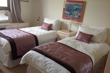 Twin room with great countryside views - Castletown - Ház