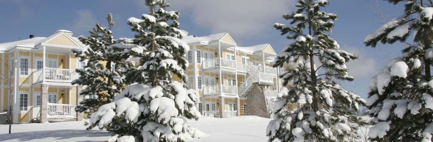 ==Dec 23-30, 2017 == Luxury Ski-In-Ski-Out Resort - Shanty Bay - Apartmen