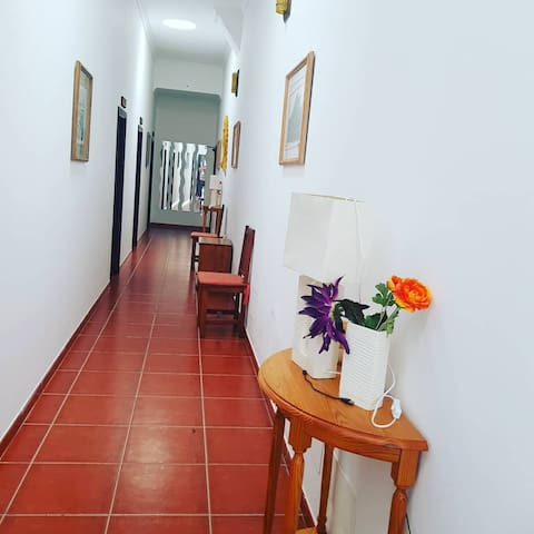 Pasillo interior