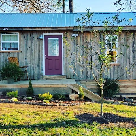 Casa sustentável da fazenda à mesa Cabine