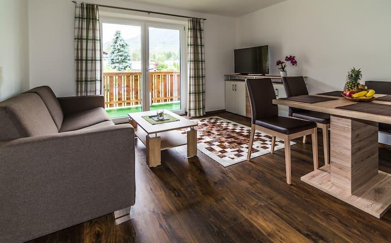 Apartments zum Wohlfühlen, Hallenbad, Sauna... - Obsteig - Wohnung