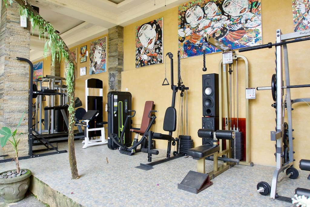 Gym for our dear guests
