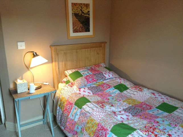 Single room in Victorian terrace. - Norwich - Casa