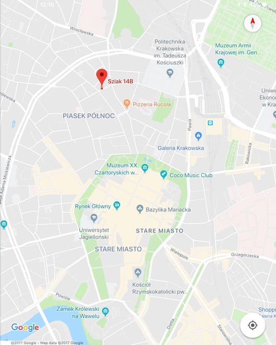 8min od Rynku Starego Miasta / 8mins from Market Square