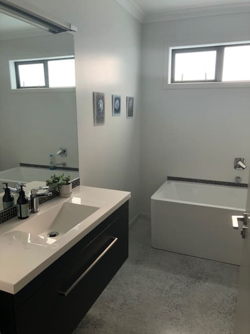Private Bathroom including large bath and shower