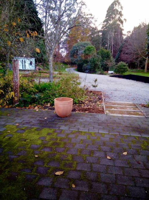 2 acre property with established native garden.