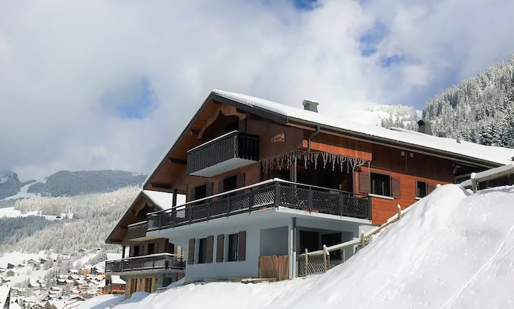 Chalet central in Chatel with modern facilities