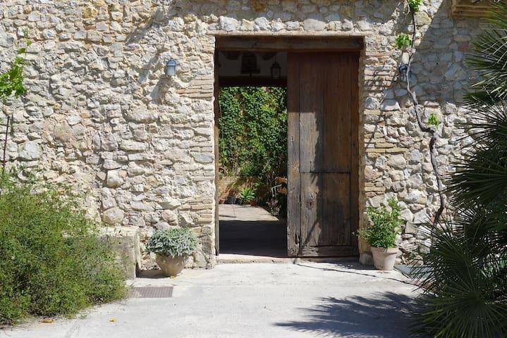BALCONET. Habitac5 CasaRural H.Pere - Quatretonda - บ้าน