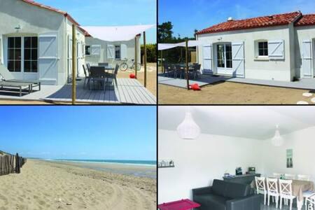 Maison de charme tout confort á 700M de la plage - Longeville-sur-Mer