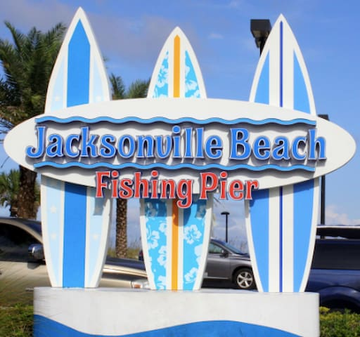 Coastal Paradise Just Steps From The Ocean (2 Bd) - 傑克遜維爾海灘(Jacksonville Beach) - 公寓